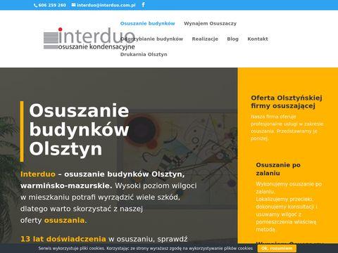 Osuszanie budynk贸w Olsztyn - Interduo