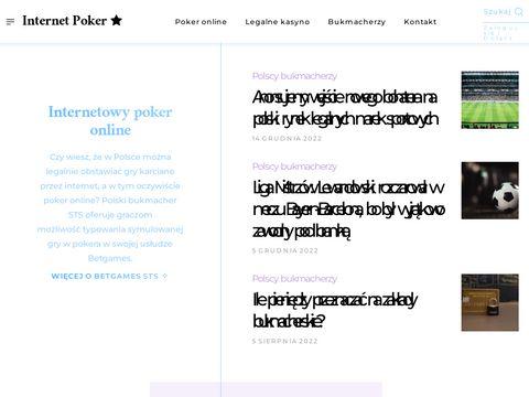 Bukmacherzy online