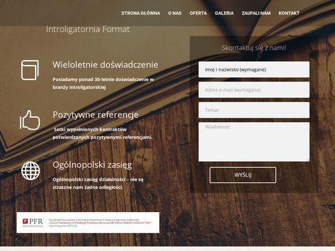 Introligatornia Format || Introligator Poznań || Usługi Introligatorskie ||
