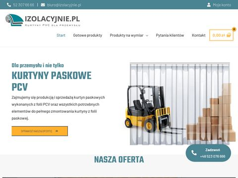 Kurtyny Paskowe od Izolacyjnie.pl