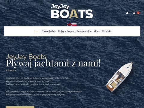 """Imprezy na jachcie, luksusowe rejsy statkiem - JJBâ""""¢"""