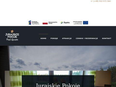 Noclegi, Agroturystyka Jura Krakowsko Cz臋stochowska. Jurajskie Pokoje - Bobolice