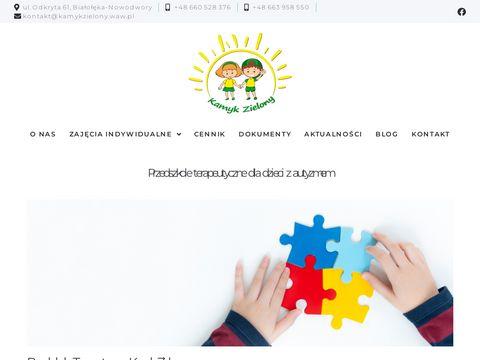 Przedszkole Kamyk Zielony