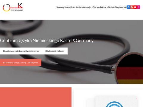 Kursy FSP j臋zyka niemieckiego dla lekarzy i student贸w medycyny