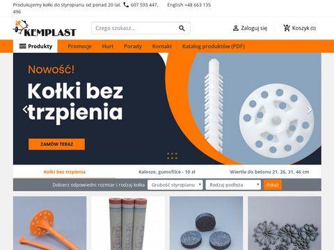 Sklep internetowy z kołkami do styropianu | Kemplast