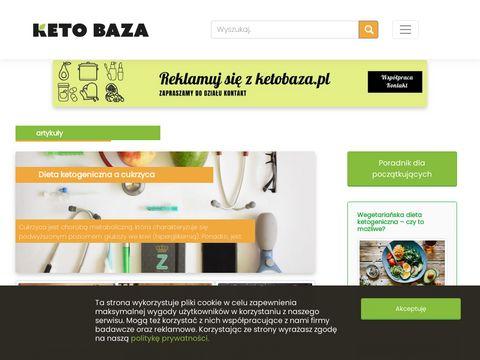 Ketobaza.pl - NajwiÄ™kszy w Polsce portal o diecie ketogenicznej.
