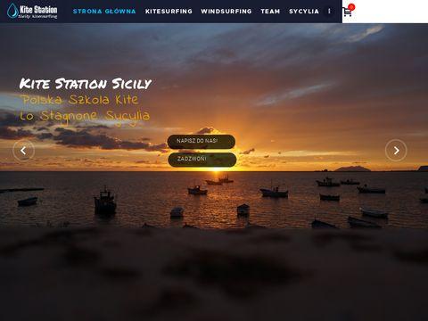 Kurs kitesurfingu Sycylia | kitestation.eu