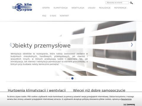 Montaż wentylacji przemysłowej - klim-spaw.com.pl