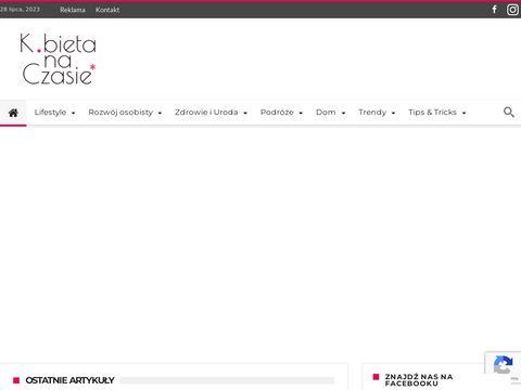 Portale o tematyce kobiecej - kobietanaczasie.pl