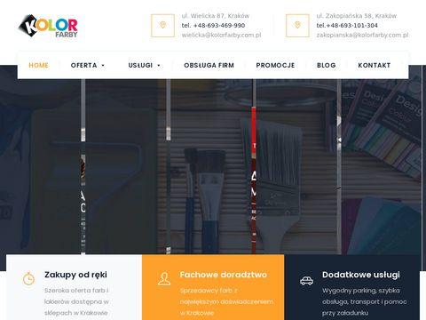 Kolor Farby Kraków   Sieć sklepów z farbami w Krakowie