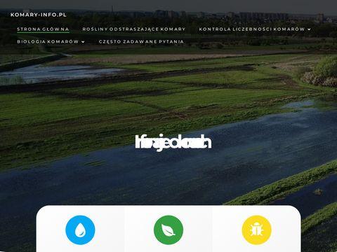 Komary-info.pl - informacje o komarach