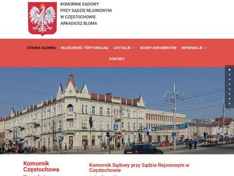 Komornik - komornikczestochowa.pl