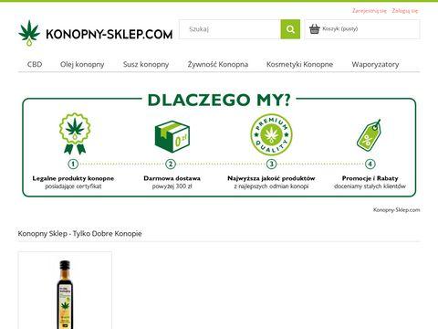 Konopny-sklep.com -Tylko Dobre Konopie - CBD Sklep