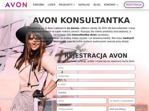 Katalogi Avon konsultantka.pl
