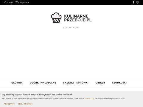 KulinarnePrzeboje.pl - najlepsze sprawdzone przepisy na każdą imprezę!