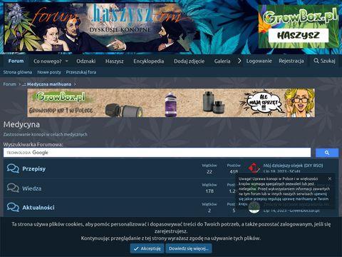 Kwiat Konopi - marihuana medyczna