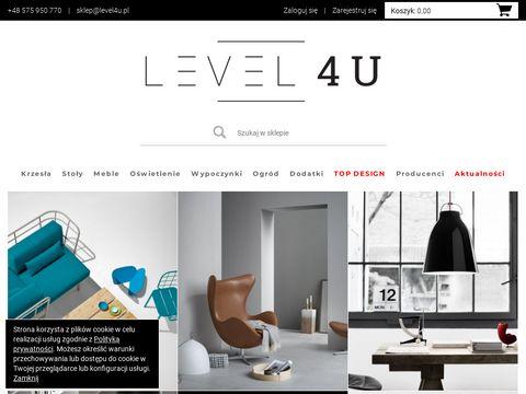 Level4u.pl - Nowoczesne Meble Designerskie i O艣wietlenie