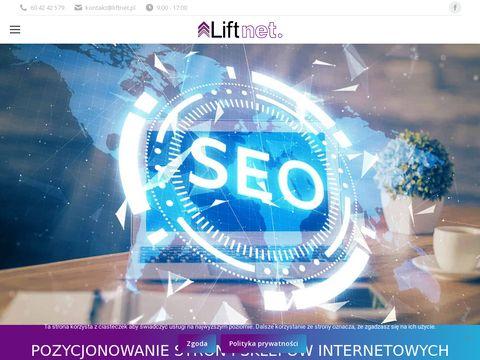 Pozycjonowanie stron i sklepów Liftnet