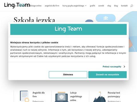 Angielski online - lingteam.pl