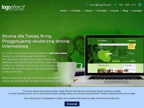 Logosfera - Projektowanie logo dla firm, strony www