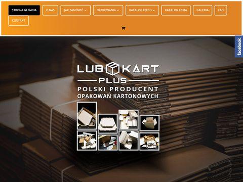 Producent Opakowań Poznań | Producent Opakowań z Tektury Falistej | https://lubkartplus.pl/