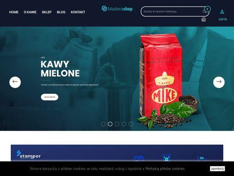 Kawa z WÅ'och - ziarnista, mielona, rozpuszczalna i herbaty   Maderashop.pl