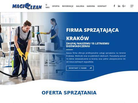 Magic Clean - firma sprzątająca Kraków, sprzątanie biur i mieszkań