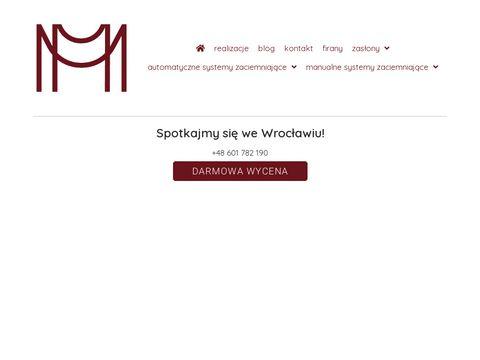 Małgorzata - Wrocław - Szycie firan na wymiar