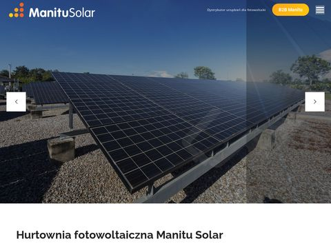 Manitu Solar - instalacje fotowoltaiczne