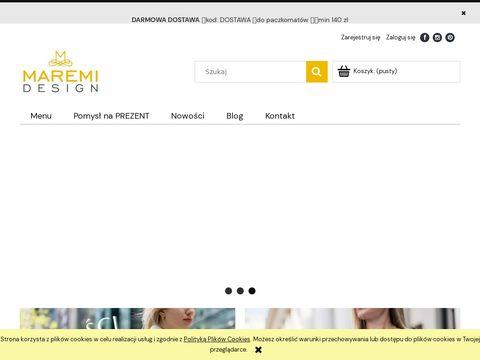 Plecaki worki - Maremi Design