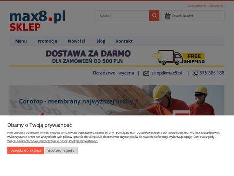 Max8.pl - sklep z lustrami drogowymi