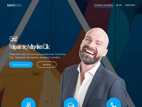 Blog finansowy maxidzik.com