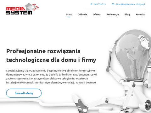 Instalacje dla domu i firmy - Media System Olsztyn