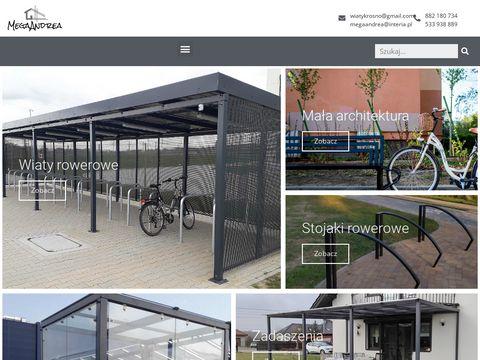 Producent wiat rowerowych i kontrukcji stalowych | Mega Andrea