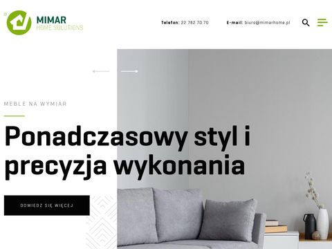 Meble na wymiar Warszawa - Producent mebli