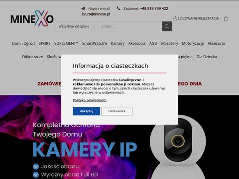 Sklep internetowy z elektronik膮 - minexo.pl