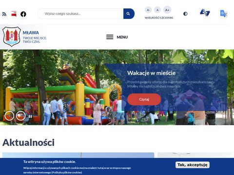 MÅ'awa - serwis informacyjny
