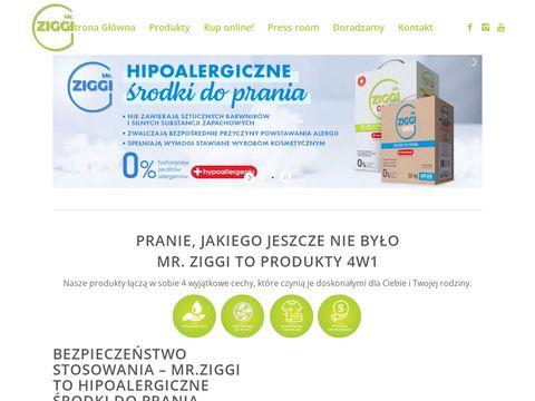 Mr. ZIGGI 鈥� hipoalergiczne 艣rodki do prania