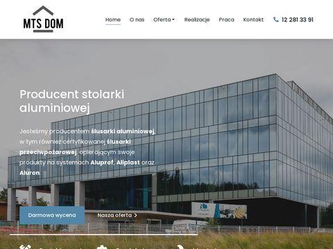 MTS Dom- stolarka aluminiowa-okna, drzwi, fasady