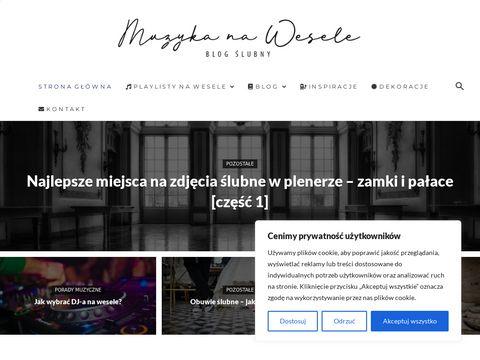 Muzyka na wesele - gotowe playlisty oraz blog