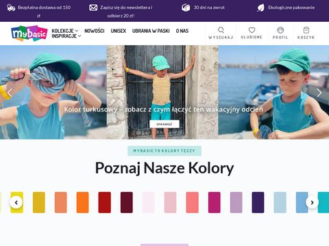 Spodnie ogrodniczki - mybasic.pl