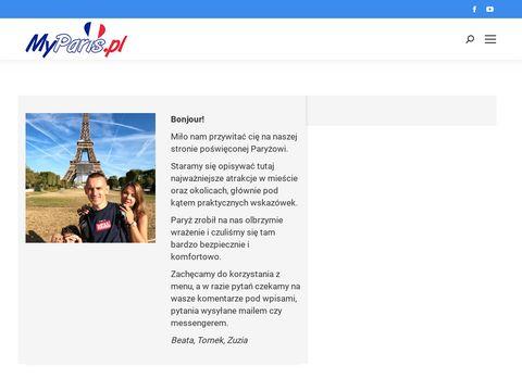 MyParis.pl - Atrakcje Pary偶a