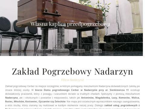 Zakład pogrzebowy Nadarzyn - CERBER Usługi pogrzebowe
