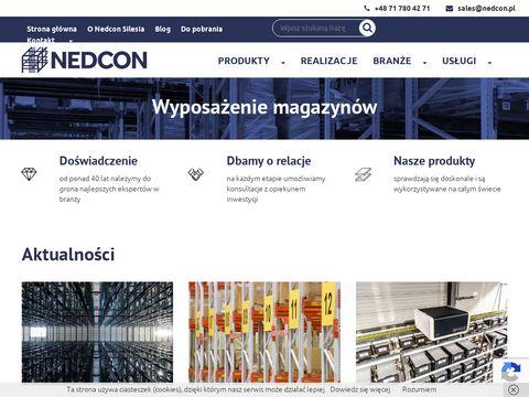 Nedcon - profesjonalne wyposażenie magazynów