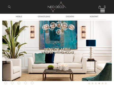 NeoDeco - Sklep internetowy z meblami designerskimi