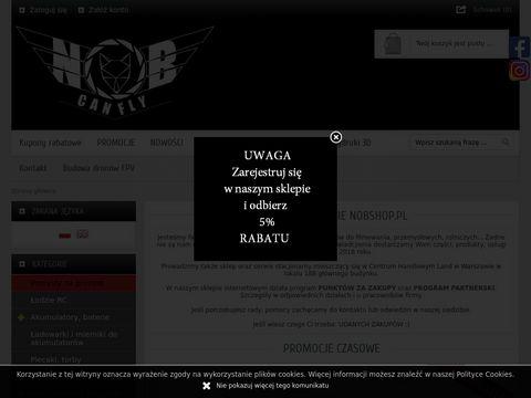 Nobshop.pl sklep z dronami i akcesoriami RC
