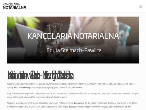 Notariusz Gliwice Kancelaria Notarialna Edyta Stelmach-Pawlica