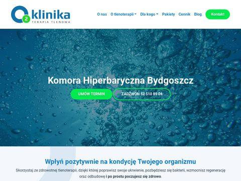 Komora Hiperbaryczna Bydgoszcz - o2klinika.pl