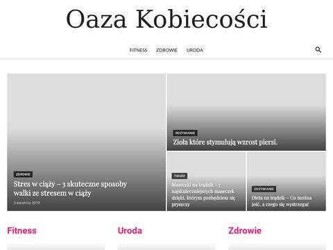 Portal Oaza Kobiecości zawiera informacje o urodzie, modzie i zdrowiu.