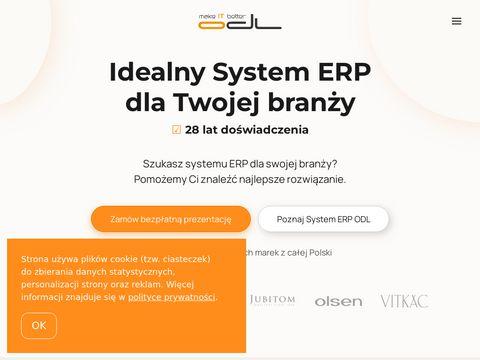 ODL Oprogramowanie Dla Firm - System ERP dla biznesu